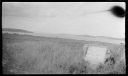 Monument Stone near Shore