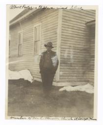 Portrait of Albert Porter, Sawyer, Minnesota
