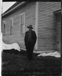Portrait of Albert Porter, Sawyer, Minnesota