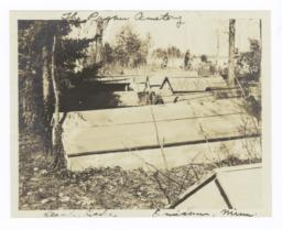 Indian Cemetery, Leech Lake, Onigum, Minnesota