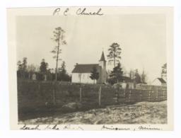 Church (Protestant Episcopal or Roman Catholic) on Leech Lake Reservation, Onigum, Minnesota
