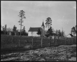 Church (Protestant Episcopal or Roman Catholic) on Leech Lake Reservation, Onigum, Minnesota