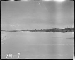 Winter View of Lake Pelican, Orr, Minnesota