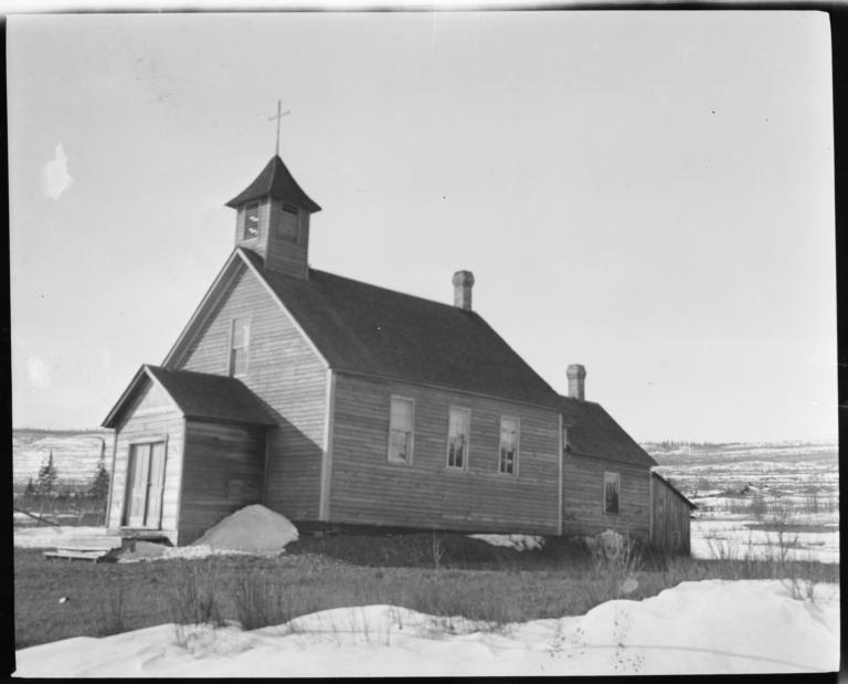 Roman Catholic Church at Ojibwa Village Near Grand Marais, Minnesota
