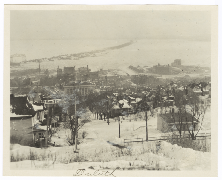 View of Duluth, Minnesota