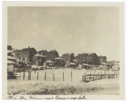 View of Winton, Minnesota, near Basswood Lake
