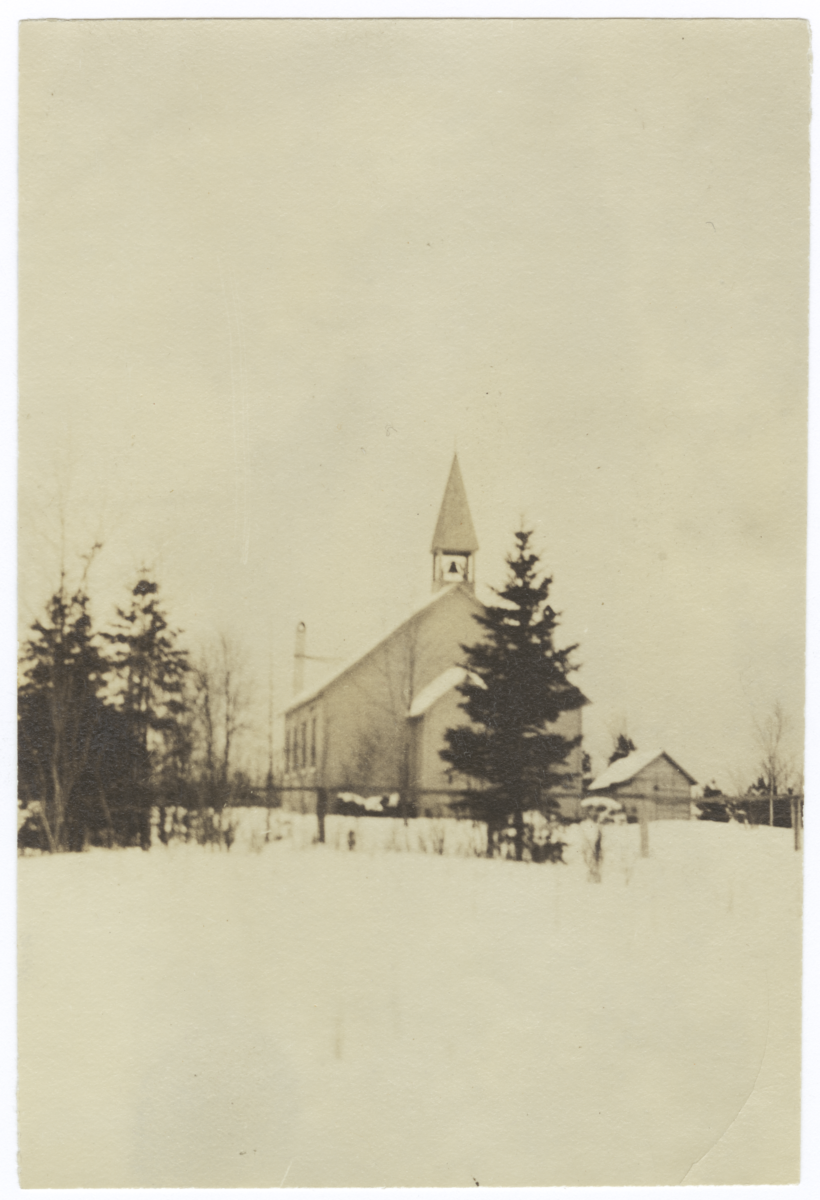 """Mission Church in the """"Land of Hiawatha"""""""