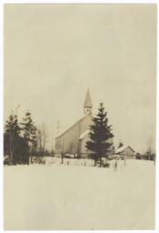 "Mission Church in the ""Land of Hiawatha"""