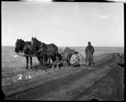 Repairing a Wagon, Minnesota