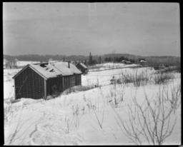 Chippewa Houses on Vermilion Lake, Minnesota