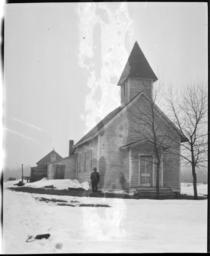 Methodist Episcopal Mission Church at Sawyer, Minnesota