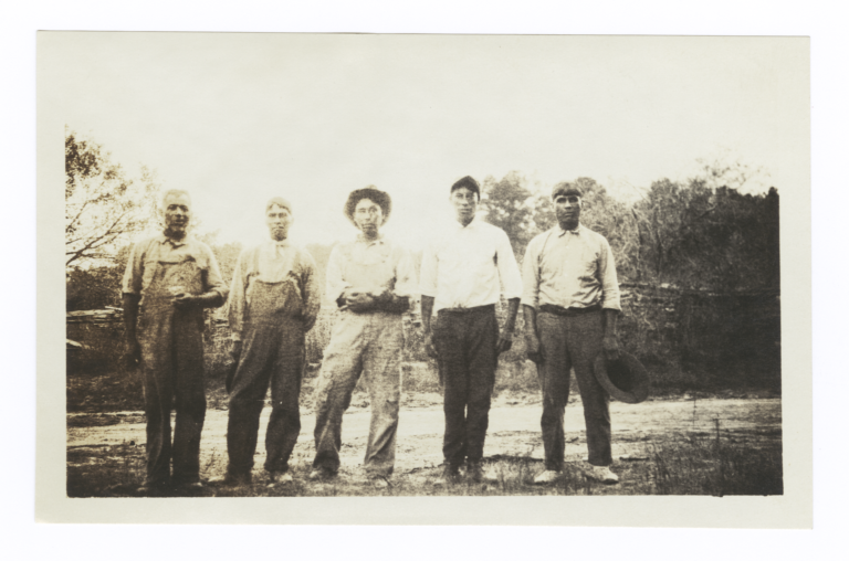 Group of Mississippi Choctaw Indians