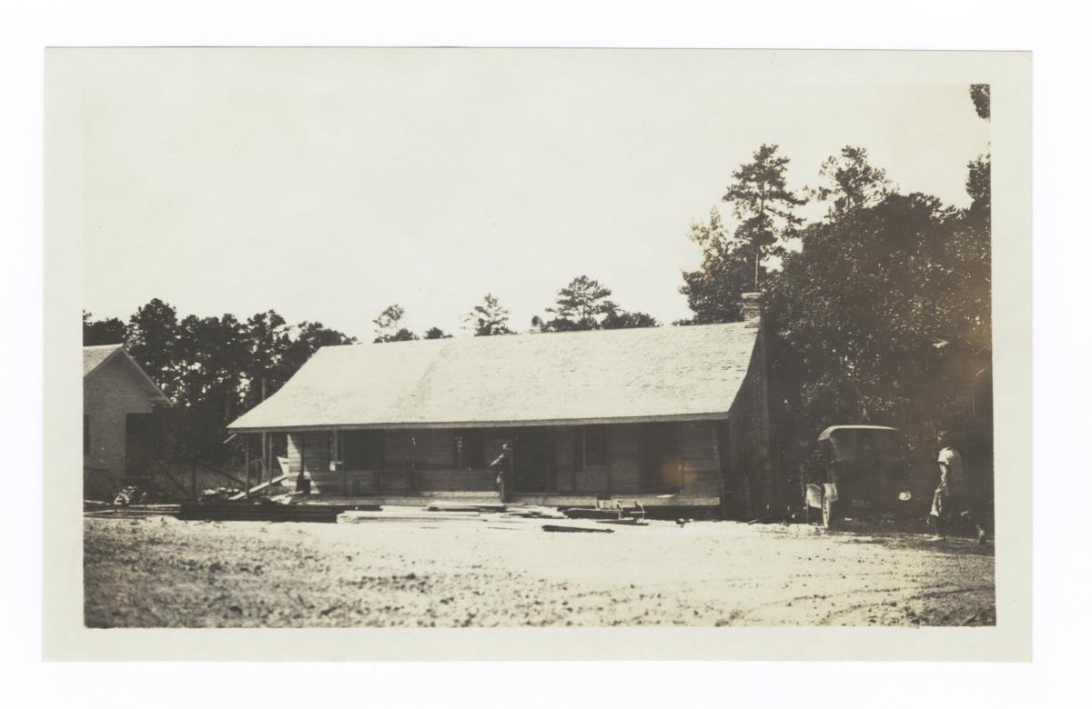 Teacher's Cottage at Pearl River, Mississippi