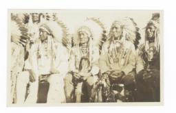 American Indian Men in Traditional Dress
