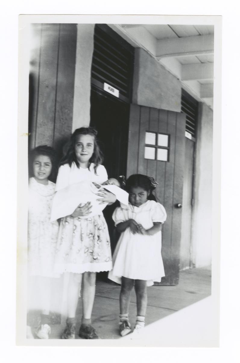 Three Girls and Baby