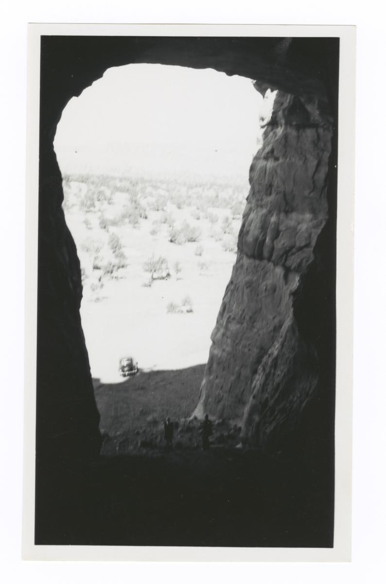 View out of a Cavern