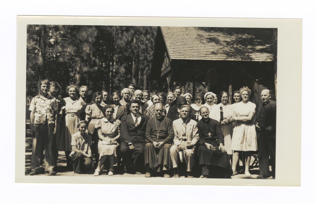 Attendees of the Western Regional Fellowship Conference, Lake Tahoe, 1940