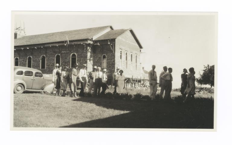 Missionary Group, Bacone, Oklahoma