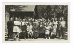 Group at the Western Regional Fellowship Conference at Lake Tahoe, 1940