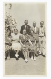 Group at the Mennonite Mission at Oraibi, Arizona