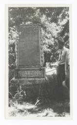 Gravestone of Reverend Henry Harmon Spalding and Eliza Hart Spalding