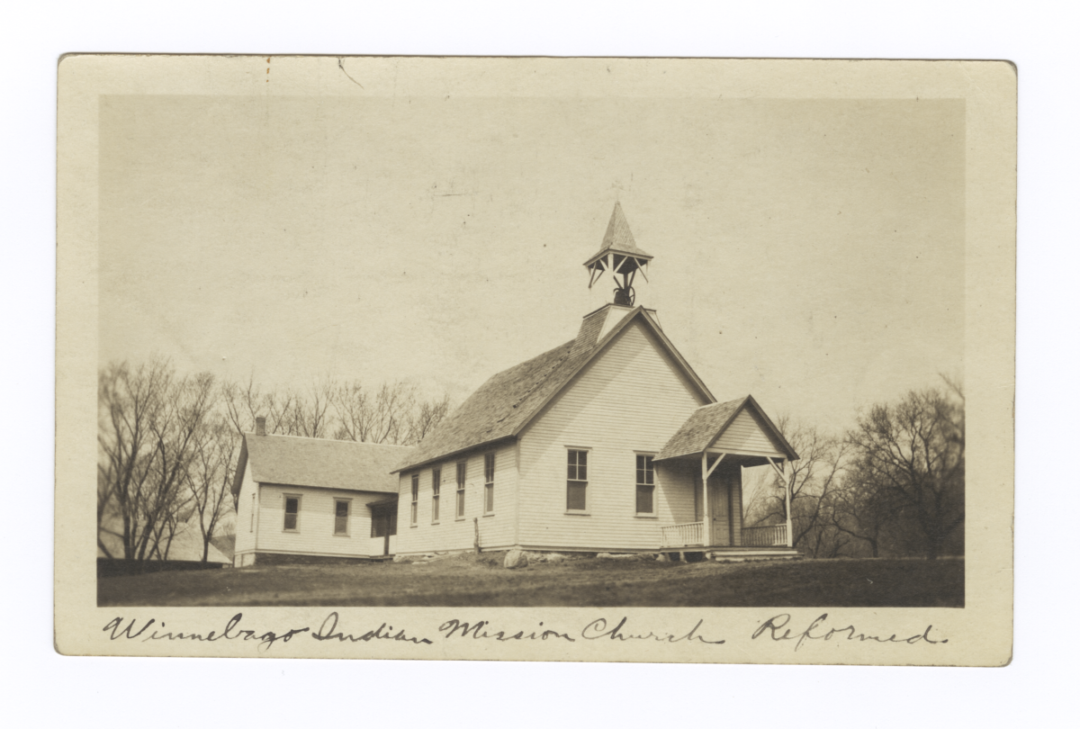 Winnebago Indian Mission Church Reformed, Nebraska