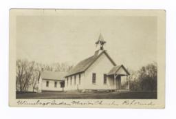 Winnebago Indian Mission Church Reformed, Nebraska