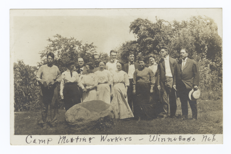 Camp Meeting Workers, Nebraska