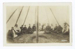 Mescal-Worship in a Tent at Winnebago, Nebraska