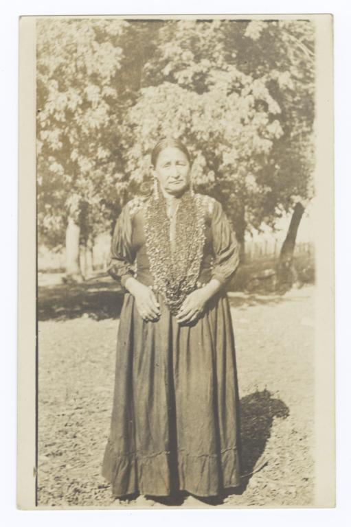 Elder American Indian Woman