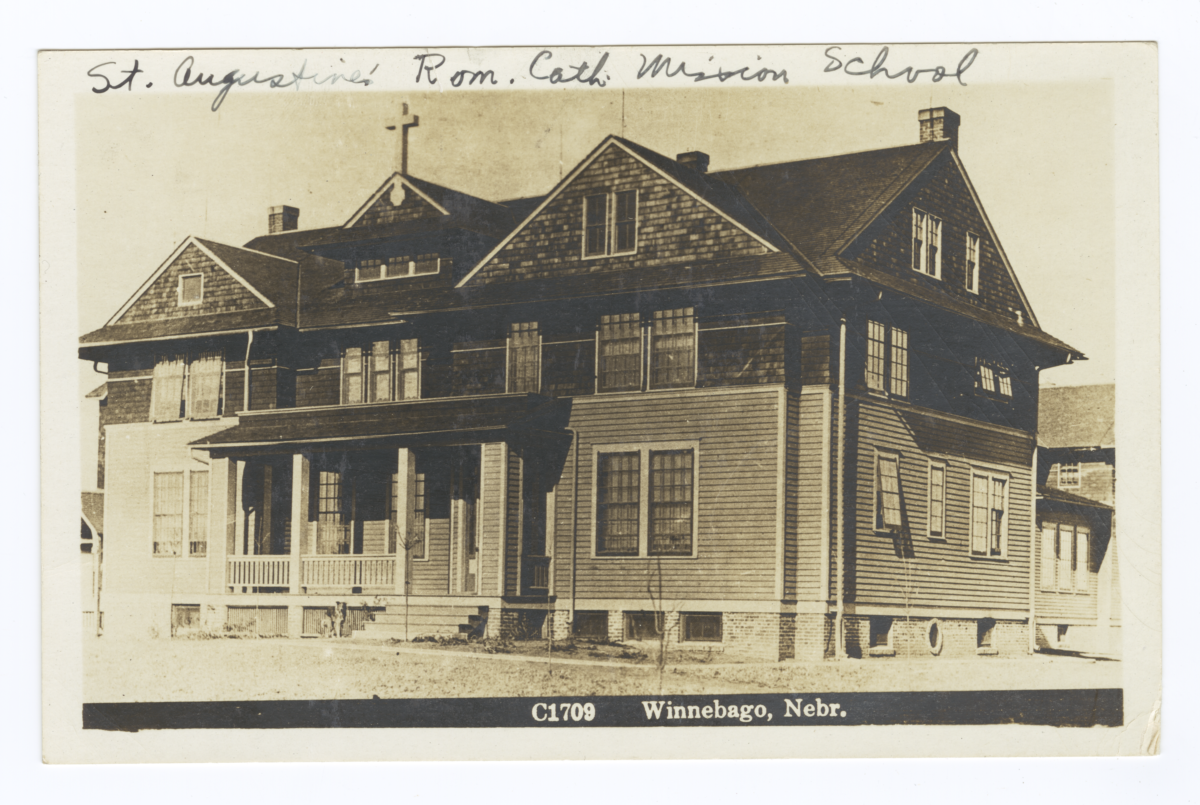 St. Augustine's Roman Catholic Mission School, Nebraska