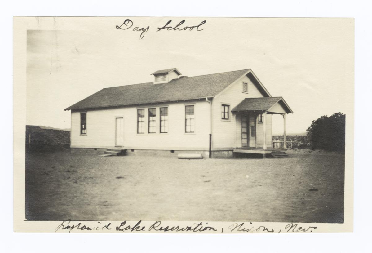 Day School, Pyramid Lake Reservation, Nixon, Nevada