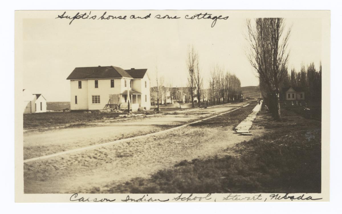 Carson Indian School, Superintendant's House, Stewart, Nevada
