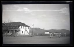 Girls Playing Baseball, Carson Indian School, Stewart, Nevada