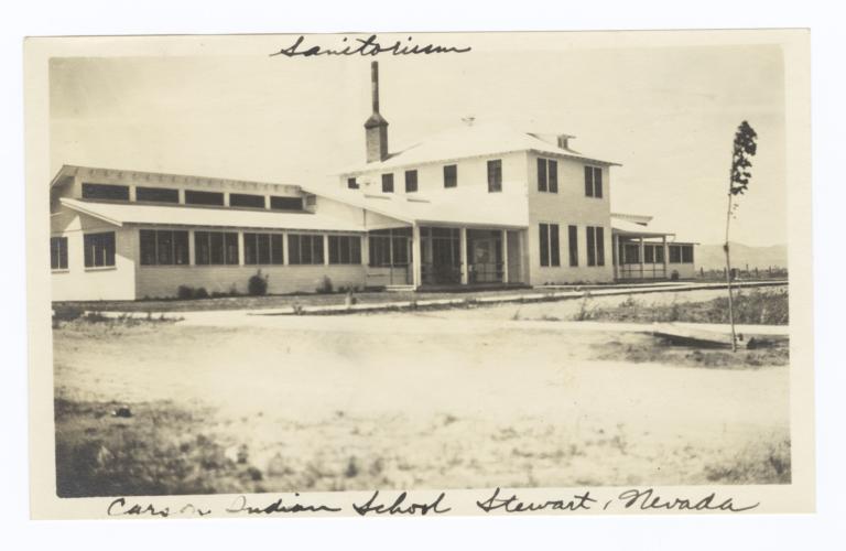 Sanitorium, Carson Indian School, Stewart, Nevada