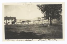 Pergola, Carson Indian School, Stewart, Nevada