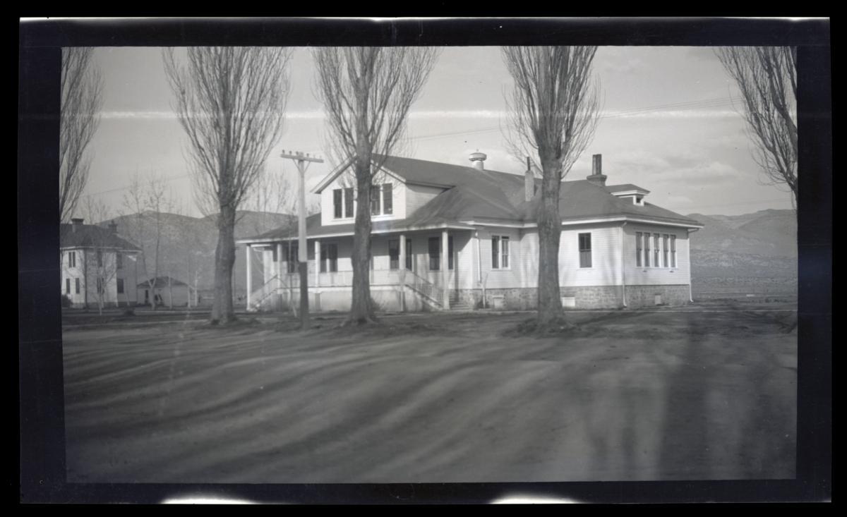 Carson Indian School, Academic Building, Stewart, Nevada