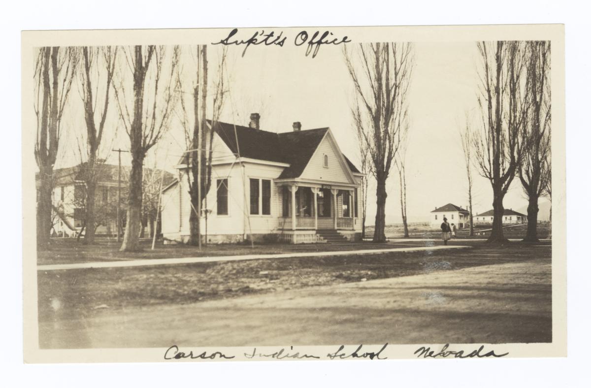 Carson Indian School, Superintendent's Office, Stewart, Nevada