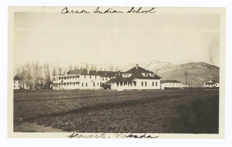 Carson Indian School, Domestic Science Building and Girls' Dormitory, Stewart, Nevada