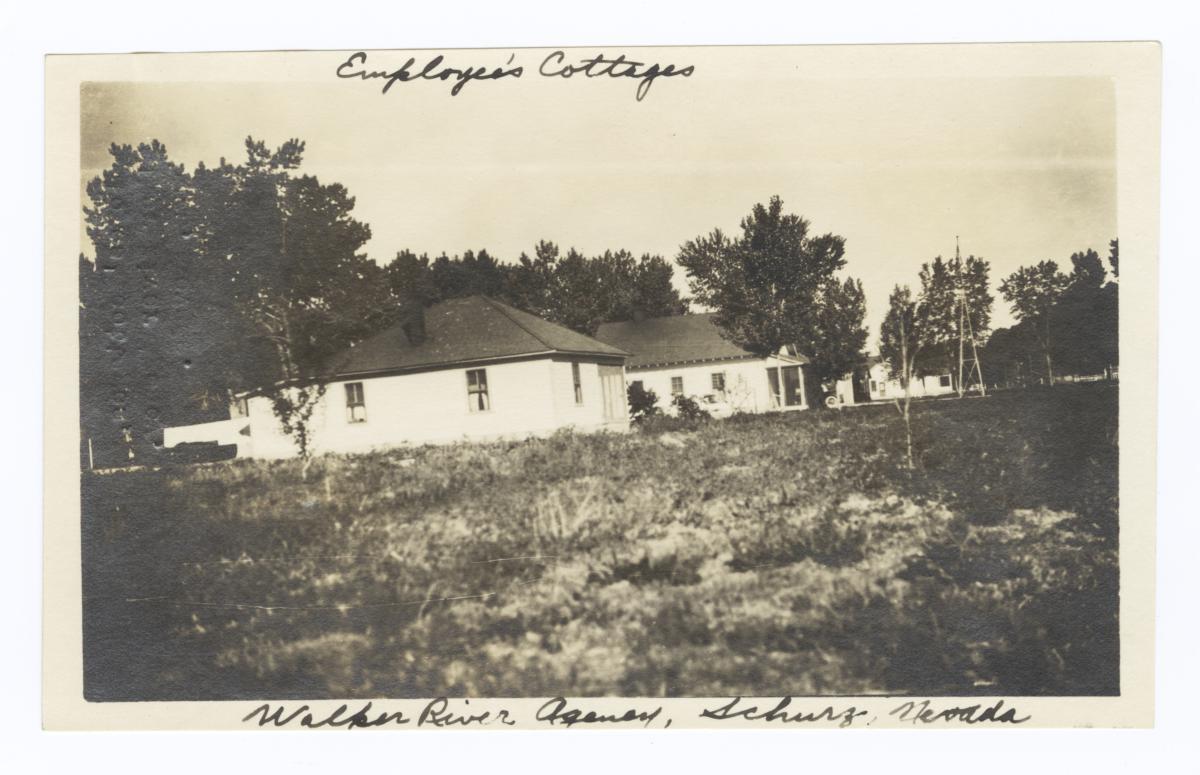Walker River Agency, Employees' Cottages, Schurz, Nevada