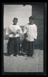 Choir Boys, St. Mary's Church, Pyramid Lake Reservation, Nixon, Nevada
