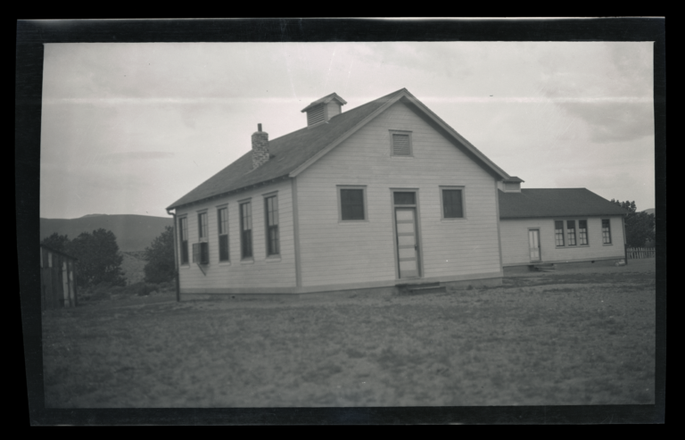 Unused School Building, Pyramid Lake Reservation, Nixon, Nevada