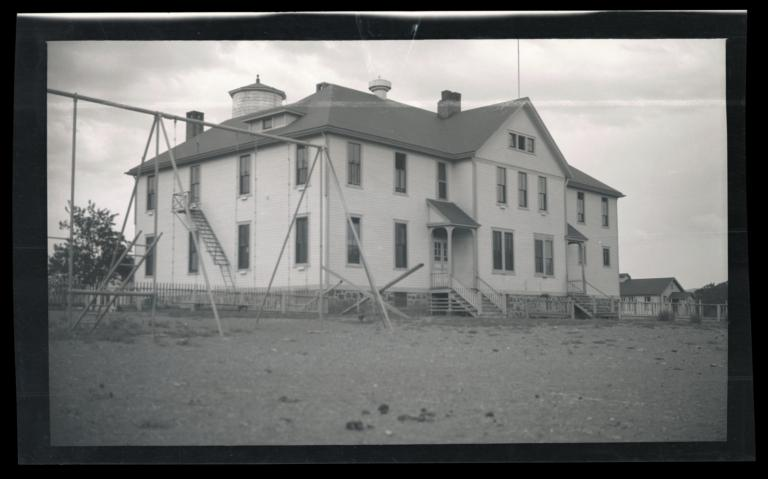 Dormitory, Pyramid Lake Reservation, Nixon, Nevada