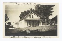 Superintendent's House, Walker River Agency, Schurz, Nevada