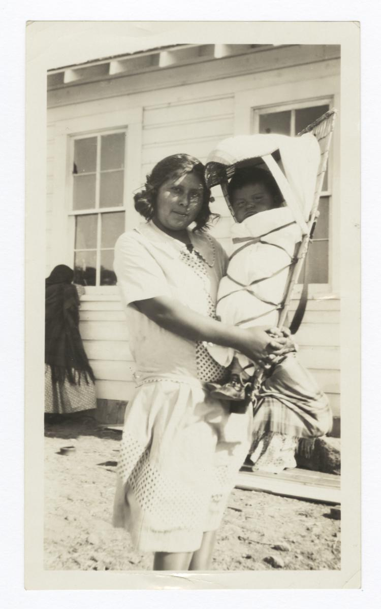 Fred Richard's Sister, and Her Child, Washoe, Nevada