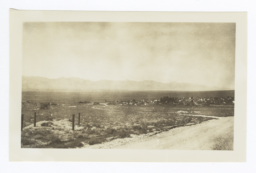 View of Town of Round Mountain, Nevada