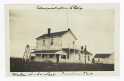 Administration Building, Western Shoshone Reservation, Owyhee, Nevada