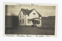 Physician's House at the Western Shoshone reservation, Owyhee, Nevada