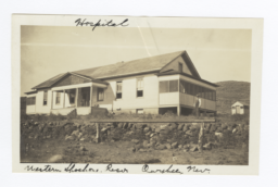 Hospital at the Western Shoshone Reservation, Owyhee, Nevada