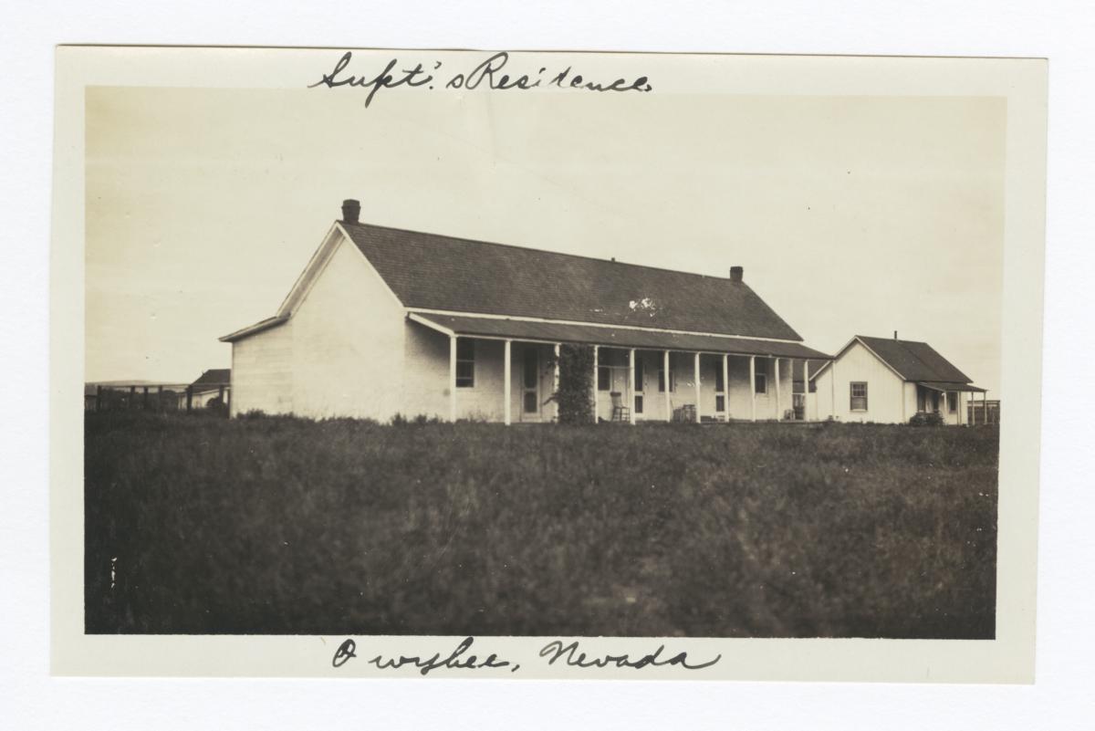 Superintendent's House, Owyhee, Nevada